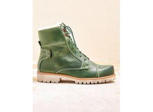 Damen Grün Malien Boots Deerberg Stiefeletten Ok8wPn0
